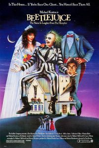 "Free Film Showing: ""Beetlejuice"" (1988) Rated PG Running Time 1 Hour 32 Minutes @ Shopland Hall 