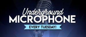 Underground Microphone @ Raymond Hood Room